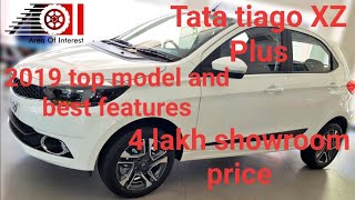Tata tiago XZ plus top model 2019