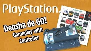 Densha de Go! gameplay with controller [電車でGO!]- Playstation PS1