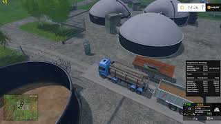 This Weight Station shows you weight of wood logs, woodchips, wooden boardpallets, other pallets and other fruit. -two animated displays for showing total weight -also shows volume of logs and pallets -shows total statistics and statistics for current ses