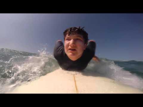 Surfing Santa Monica