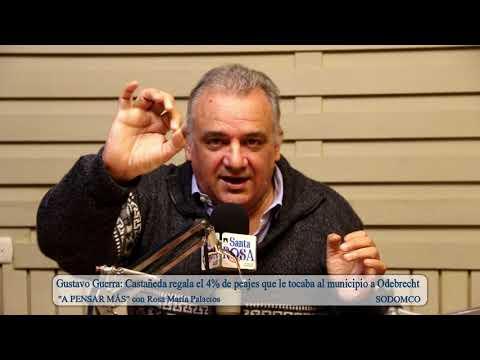 Gustavo Guerra: Castañeda regala el 4% de peajes que le tocaba al municipio a Odebrecht