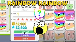 I Got Rainbow Rainbow! And Gold Rainbow - Pet Simulator