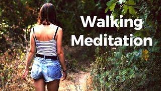 Walking Meditation with Bird & Nature Sounds | Mindful Walking