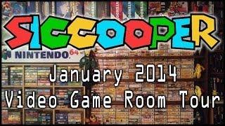 January 2014 Video Game Room Tour | SicCooper