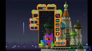 Tetris: Party Deluxe - First 5 Minutes - Exclusive ContraNetwork [Nintendo Wii]
