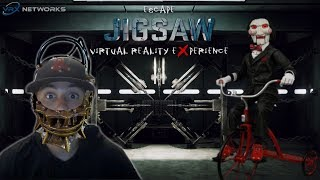 SAW IN VR!!! - ESCAPE JIGSAW VIRTUAL REALITY EXPERIENCE GAMEPLAY + ENDING!