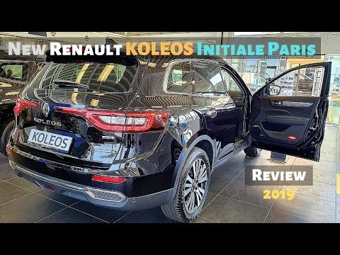 New Renault KOLEOS Initiale Paris 2019 Review Interior Exterior