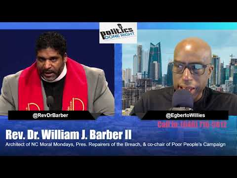 Rev. Dr. William J. Barber II discusses rally in DC for moral impeachment of Trump Rev. Dr. William J. Barber II appeared on Politics Done Right to discuss a rally in Washington DC by an interdenominational group of clergy for the moral ..., From YouTubeVideos