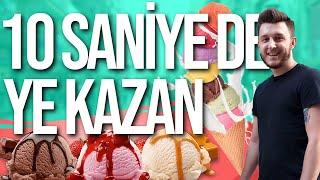 YE KAZAN | 20 TL İÇİN DONDURMA YEDİ !! |