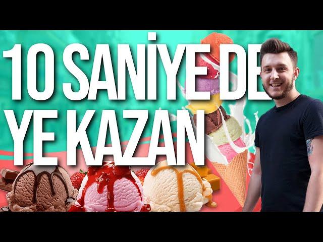 YE KAZAN   20 TL İÇİN DONDURMA YEDİ !!  