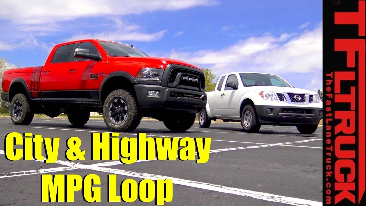 2017 Ram Wagon And Nissan Frontier City Highway Mpg Review