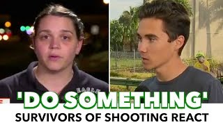 Teachers And Students React To Another School Shooting