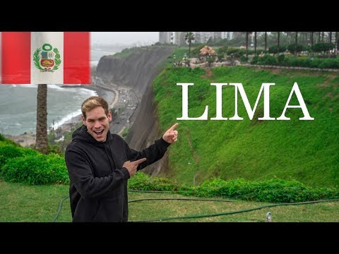 First Impressions of LIMA PERU (First time in South America!)