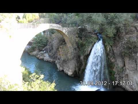 Uşak Karahallı, Clandras Köprüsü & Şelalesi