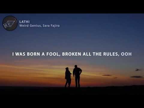 lirik-lagu-tiktok-lathi