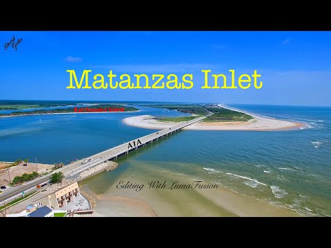 The Matanzas Inlet - Aerial View