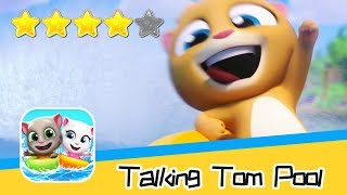 Talking Tom Pool Level 281-284 Walkthrough Let's help them! Recommend index four stars