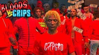 "BLOODS VS CRIPS 'SCHOOL KIDS"" GANG WAR #9 (GTA5 SKIT)"