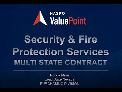 Security Fire Protection State Rollout Webinar