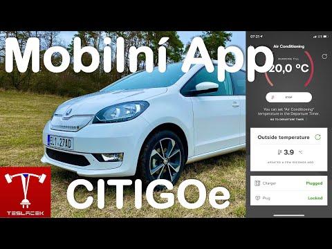#160 Skoda CITIGOe iV Mobilni Aplikace Škoda Connect | Teslacek