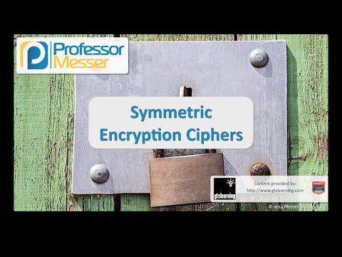 Symmetric Encryption Ciphers - CompTIA Security+ SY0-401: 6.2