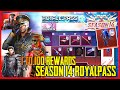 SEASON 14 ROYALPASS | CONFIRM 1 TO 100 ALL RP REWARDS WITH RANK - PUBG MOBILE
