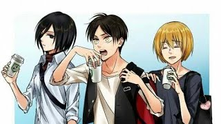 AOT High School Series:  Case of the Monday's😌😜👌‼️ (part 12)