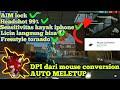 DPI DARI MOUSE CONVERSION||AUTO HEADSOT TRUSS||ANTI BANET