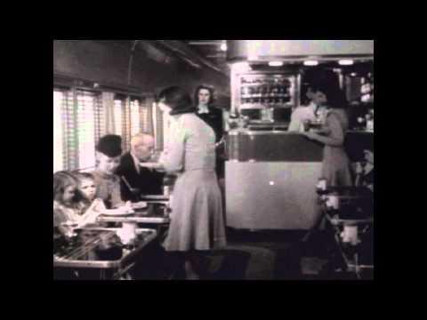 A Great Railroad at Work (1942) B&W - Historic Movie