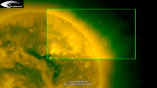 UFOs near the Sun - NASA images HQ - August 15, 2012.