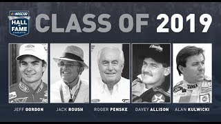 NASCAR Hall of Fame Class of 2019 announced