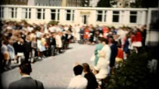 Skolavslutning i gula paviljongen 1964