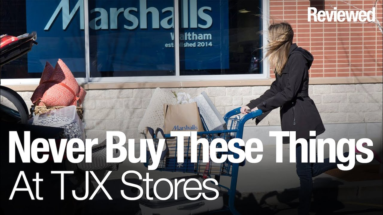5 things you should never buy from TJ Maxx, Home Goods, & Marshalls