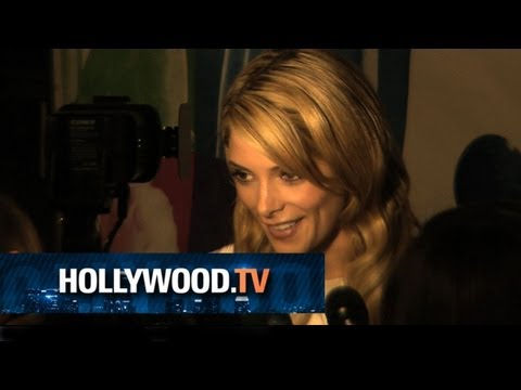 Ashley Greene and Mailin Akerman rock White at the CGBG Premiere - Hollywood.TV