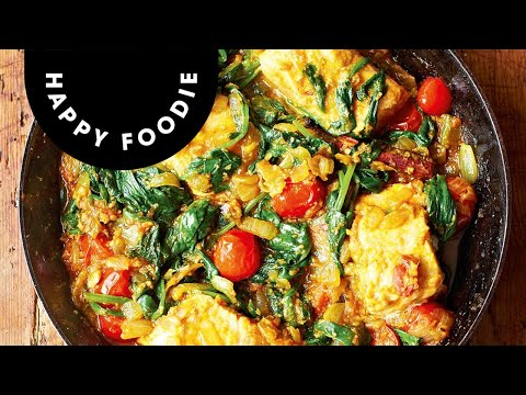 Salmon and Spinach Curry   Meera Sodha