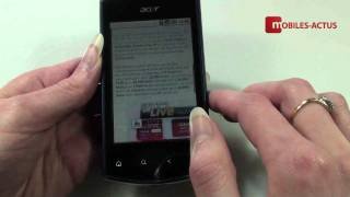 Acer Liquid Mini - Test, démonstration, prise en main