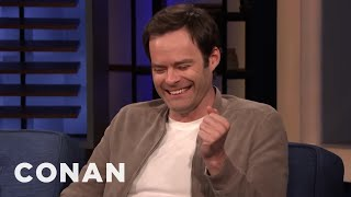 "The ""Barry"" Scene That Broke Bill Hader - CONAN on TBS"