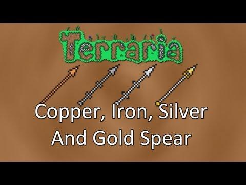 Terraria: Reborn Mod — Spears (Copper, Iron, Silver And Gold)!