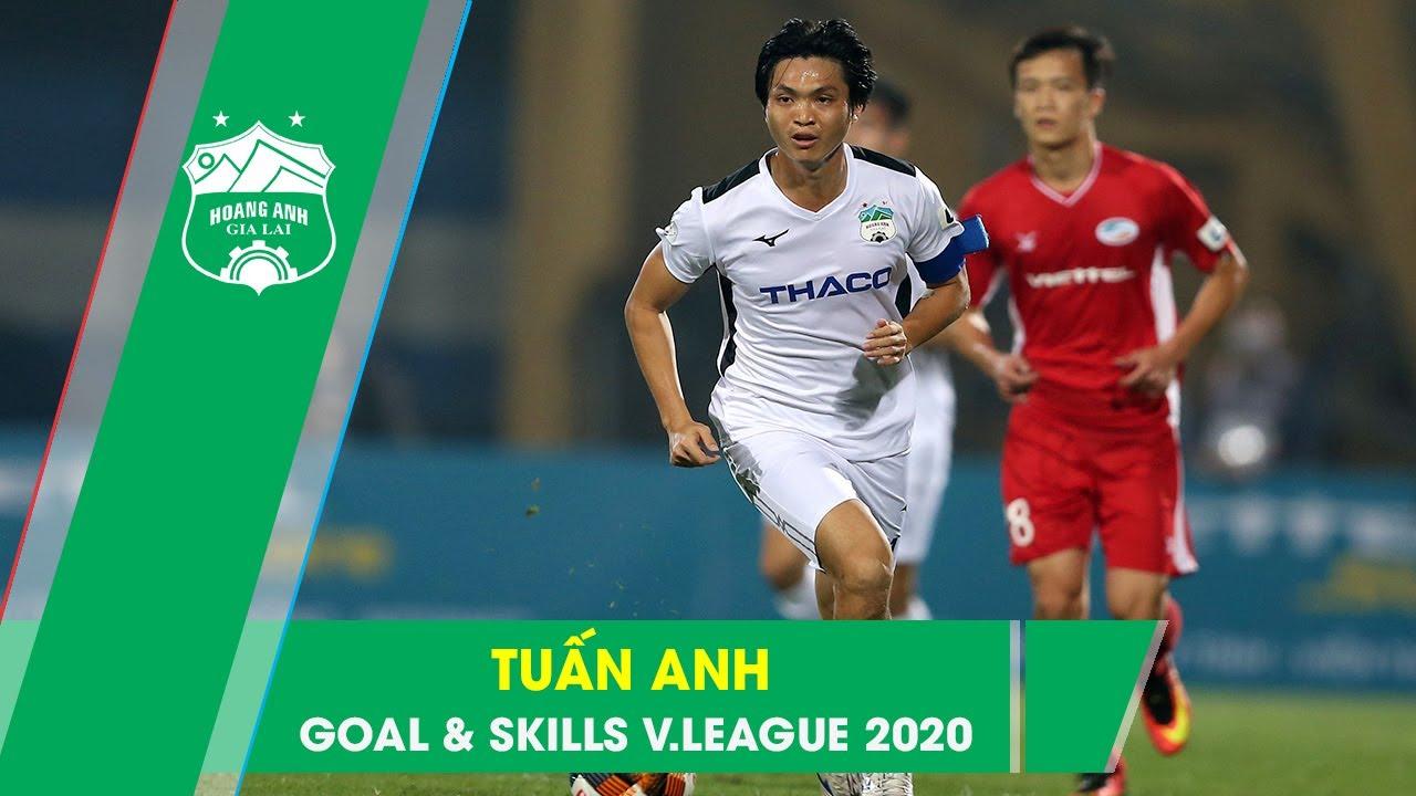Nguyễn Tuấn Anh | Những pha bóng bùng nổ sau 11 vòng V.League 2020 ??? | HAGL Media