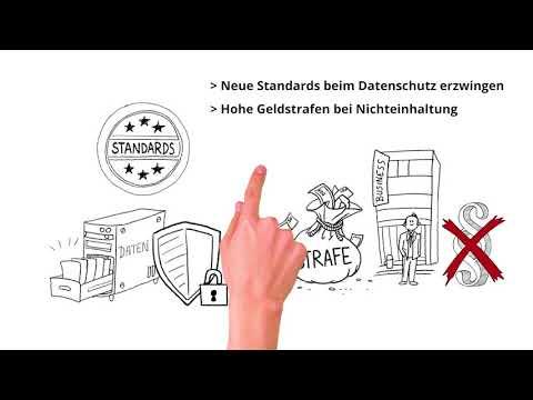 Erklärvideo DSGVO - Was sich mit der europäischen Datenschutzgrundverordnung ändert