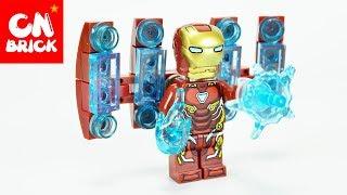 LEGO AVENGERS INFINITY WAR IRON MAN MK50 SY 1060 2 Unofficial LEGO