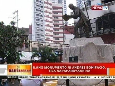 BT: Ilang monumento ni Andres Bonifacio, tila napapabayaan na
