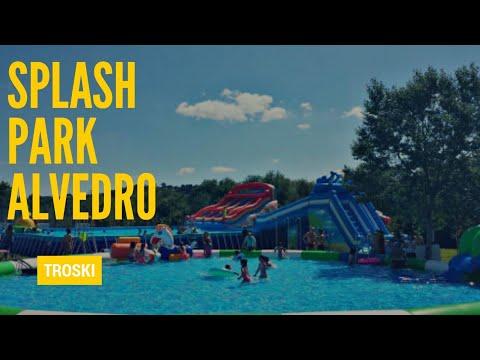 Parque acuático Alvedro Splash Park Culleredo Agosto 2018