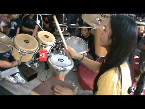 Maki Estrella - multi-percussion solo (Drum Day at Lyric)