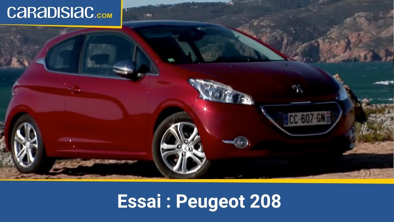 essai peugeot 208 youtube. Black Bedroom Furniture Sets. Home Design Ideas
