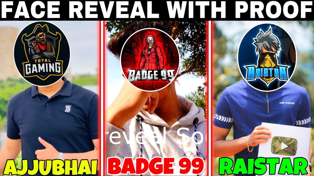 Download Ajjubhai Face Reveal With Proof || Badge 99 Face Reveal || Raistar Face Reveal || Total Gaming Face