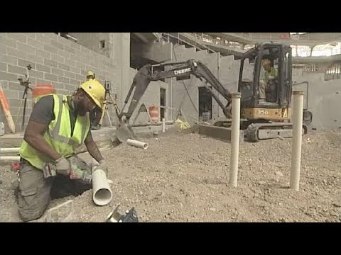 Milwaukee Bucks Arena Construction Plumbing Tour