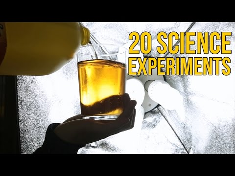 20 Science Experiments You Can Do at Home Compilation - Top Science Experiments