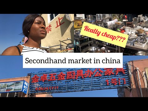 Come with me | SECONDHAND MARKET IN CHINA | Shenyang City | LIFE IN CHINA