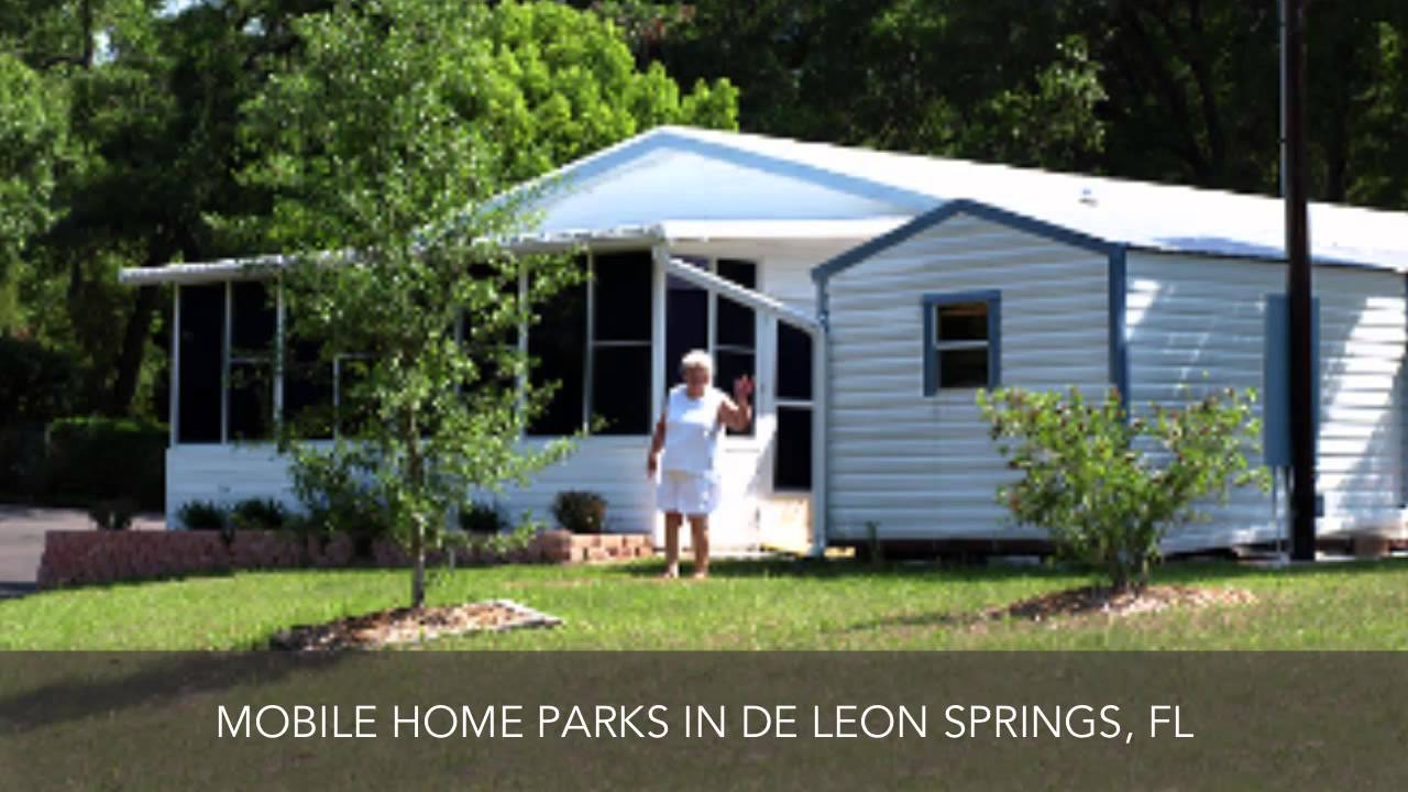 Mobile Home Parks De Leon Springs FL Hidden Valley Park